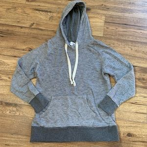 🦋 Blue Crush gray hoodie with pockets